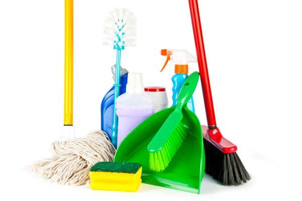 herramientas de limpieza para realizar una mejor limpieza