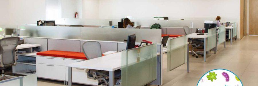 Limpieza y desinfección de oficinas y locales